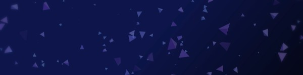 Worship Triangles Indigo Blue Triple Wide