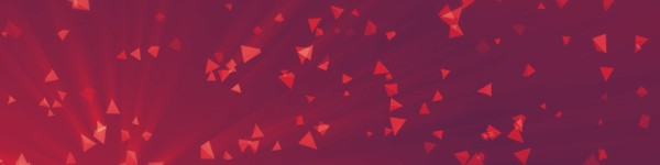 Worship Triangles Vibrant Pink Triple Wide