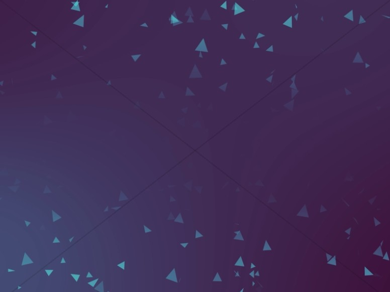 Worship Triangles Teal Blue Gradient Background