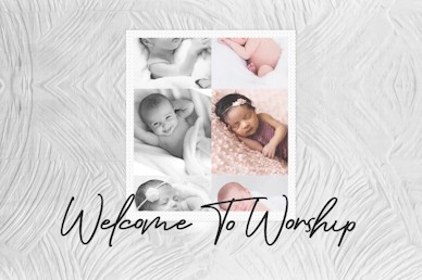 Sanctity of Life Welcome Church Motion Graphic