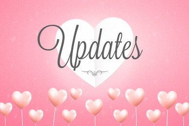Valentine's Day Updates Church Motion Graphic