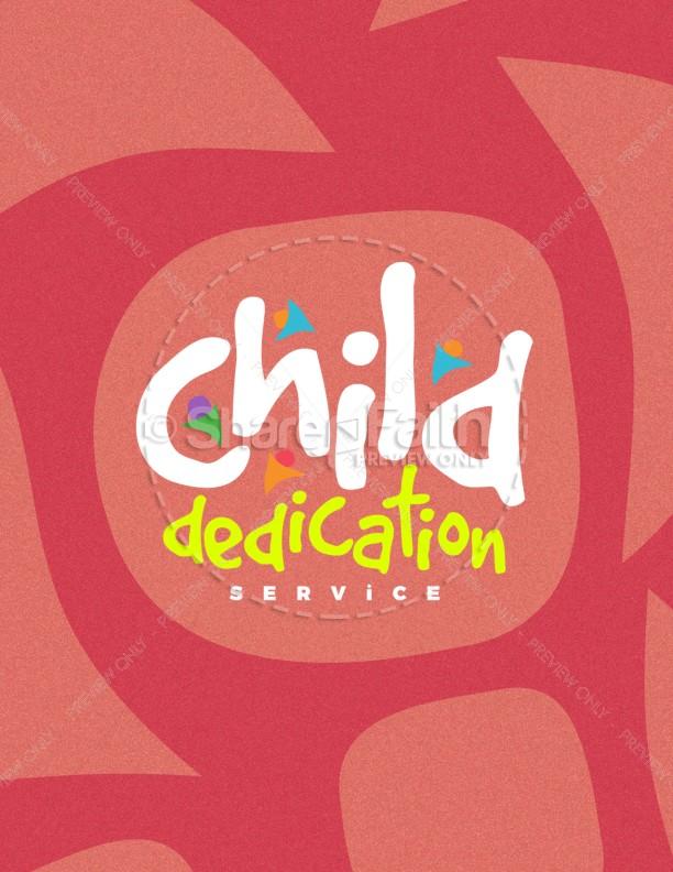 Child Dedication Church Flyer