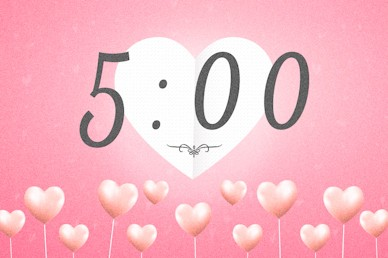 Valentine's Day Church Countdown Motion Graphic