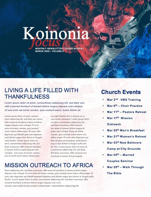 Super Sunday Church Media Newsletter