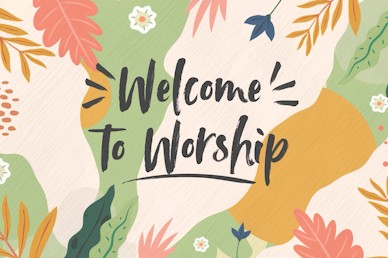 Hello Spring Welcome Church Motion Graphic