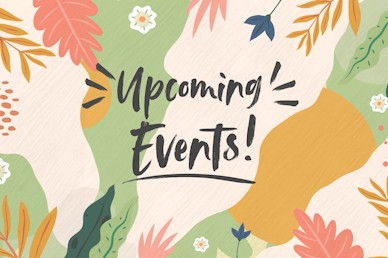 Hello Spring Upcoming Events Church Motion Graphic