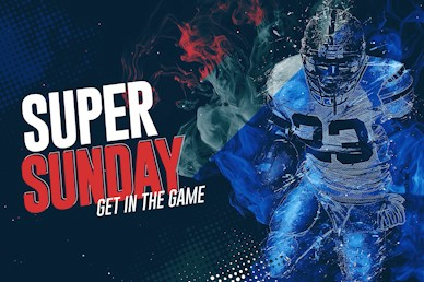 Super Sunday Title Church Motion Graphic