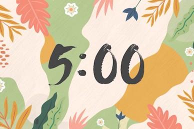 Hello Spring Countdown Church Motion Graphic