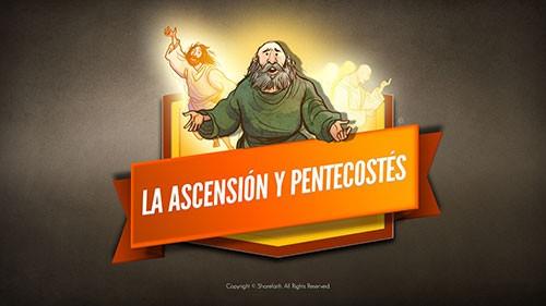 El video bíblico de Ascensión y Pentecostés para niños