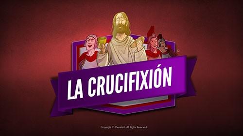 Video bíblico de la crucifixión de Jesús para niños