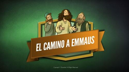 Video de la Biblia Lucas 24 Camino a Emaús para niños