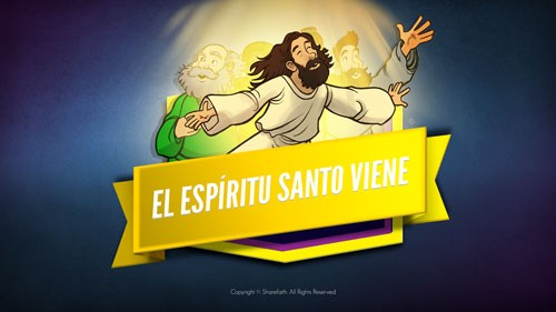 Hechos 2 El Espíritu Santo viene video bíblico para niños