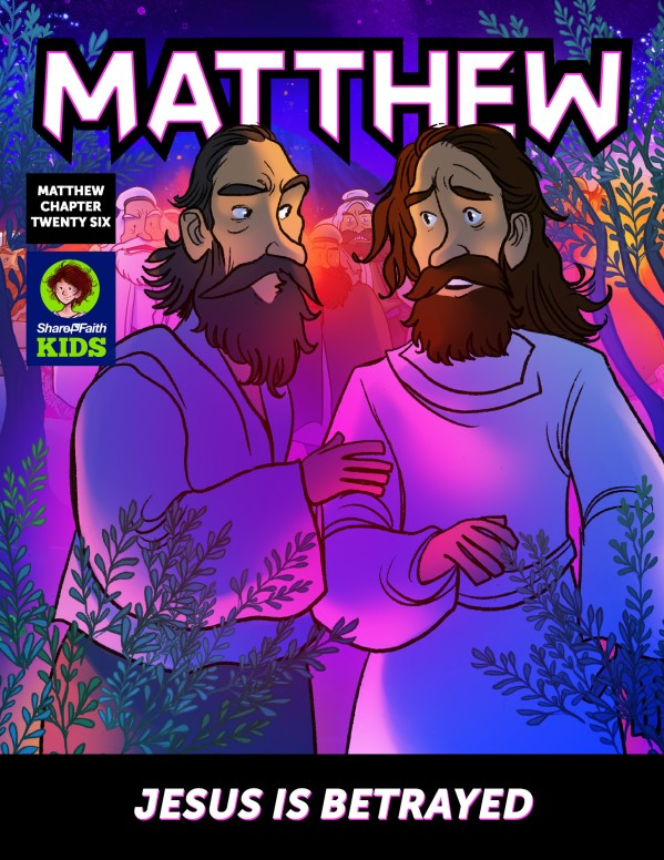 Matthew 26 Jesus Is Betrayed Digital Comic