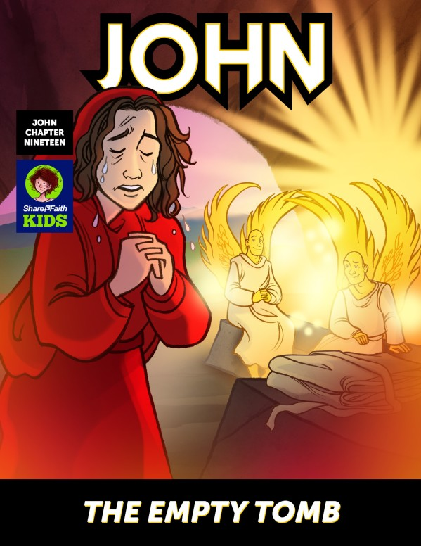 John 19 The Empty Tomb Digital Comic