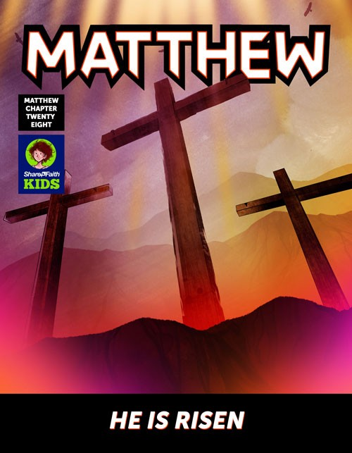 Matthew 28 He Is Risen Digital Comic