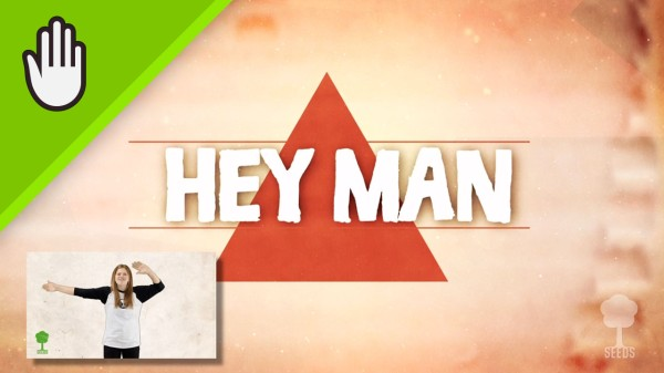 Hey Man Kids Worship Video for Kids Hand Motions