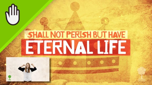 Eternal Life Kids Worship Video for Kids Hand Motions