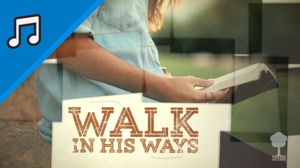 Walk In His Ways Kids Worship Video for Kids Instrumental