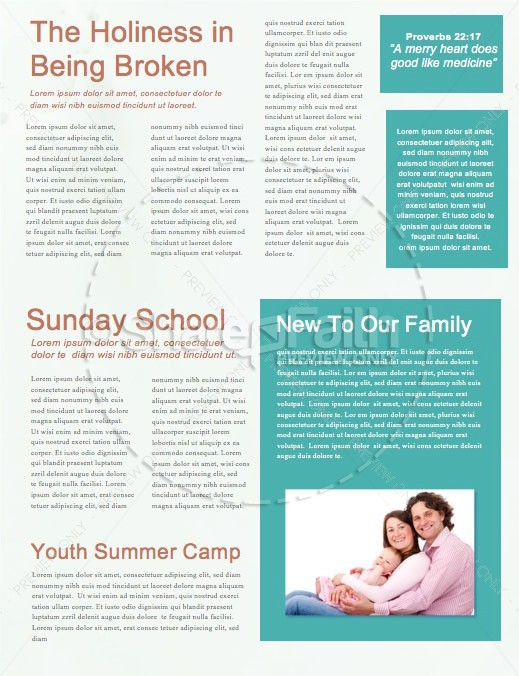 Spring Forward Daylight Savings Church Newsletter | page 2