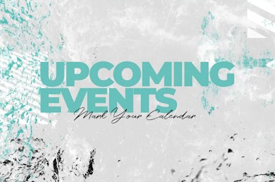 Baptism Sunday Upcoming Events Church Motion Graphic