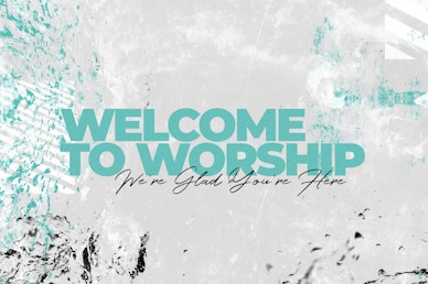 Baptism Sunday Welcome Church Motion Graphic