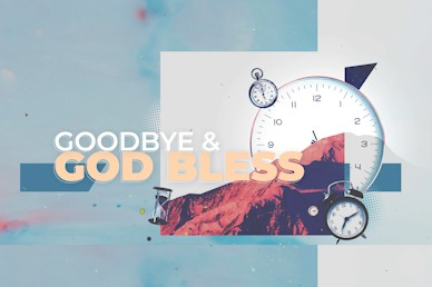 Spring Forward Daylight Savings Goodbye Church Motion Graphic