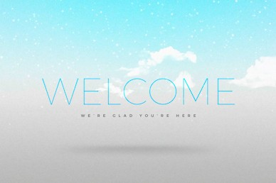 The Vow Welcome Church Motion Graphic