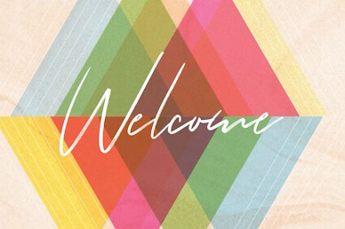 Easter Sunday Colorful Welcome Church Motion Graphic