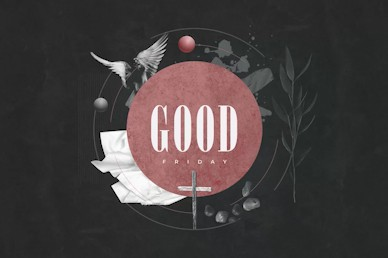 Good Friday Cross Title Motion Graphic
