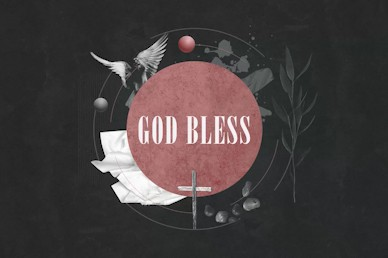 Good Friday Cross Goodbye Motion Graphic