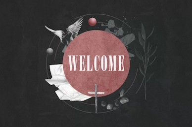 Good Friday Cross Welcome Motion Graphic