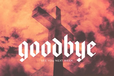 Rebel Cross Goodbye Church Motion Graphic