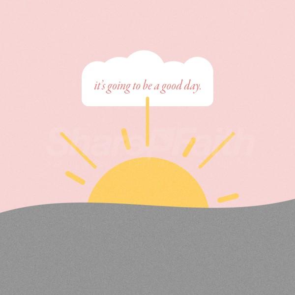 Good Day Sun Church Social Media Graphic