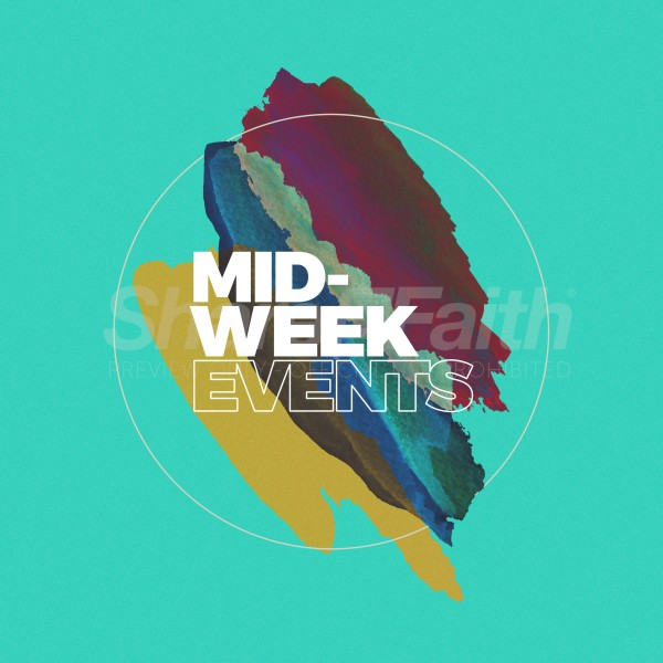 Mid Week Events Social Media Graphic