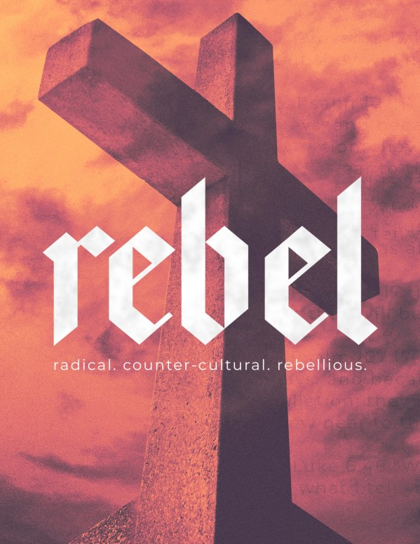 Rebel Cross Church Flyer