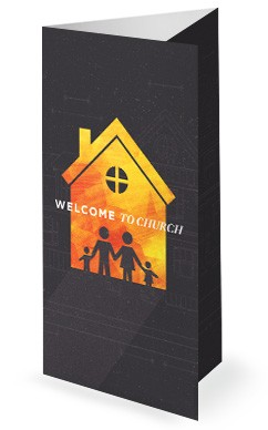 Family Matters House Church Trifold Bulletin