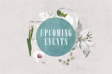 Easter Sunday Lily Upcoming Events Motion Graphic
