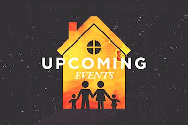 Family Matters Upcoming Events Church Motion Graphic