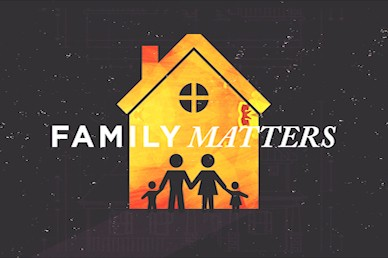 Family Matters Title Church Motion Graphic
