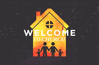Family Matters Welcome Church Motion Graphic