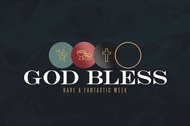 Holy Week Goodbye Church Motion Graphic