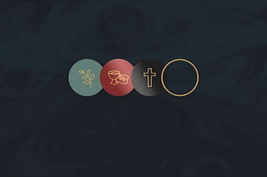 Holy Week No Text Church Motion Graphic