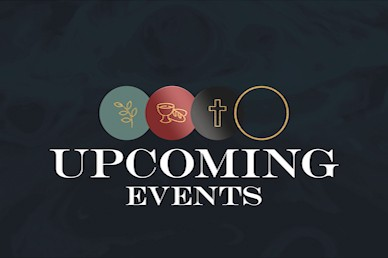 Holy Week Upcoming Events Church Motion Graphic