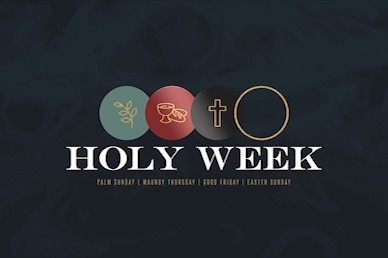 Holy Week Title Church Motion Graphic