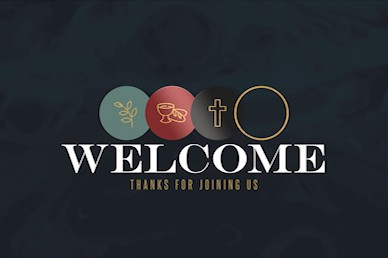 Holy Week Welcome Church Motion Graphic