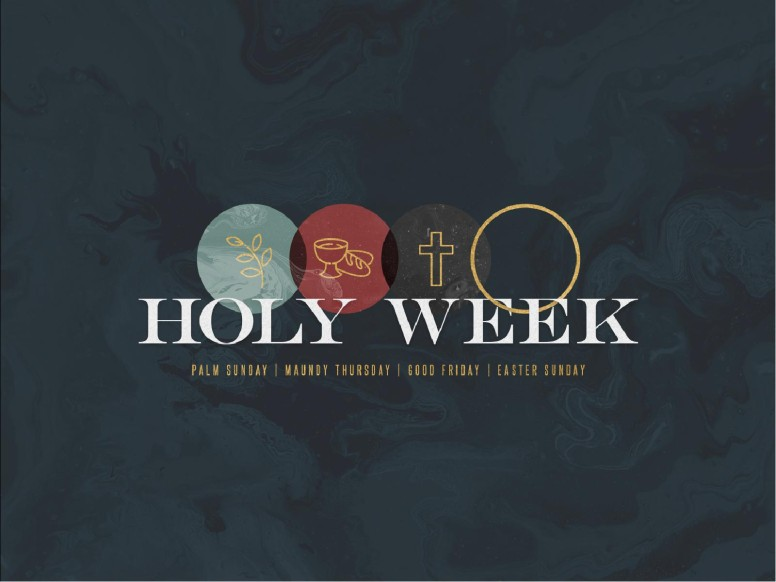 Holy Week Marble Church PowerPoint