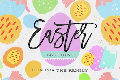Easter Egg Hunt Title Motion Graphic