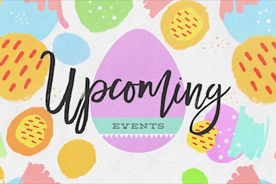 Easter Egg Hunt Upcoming Motion Graphic