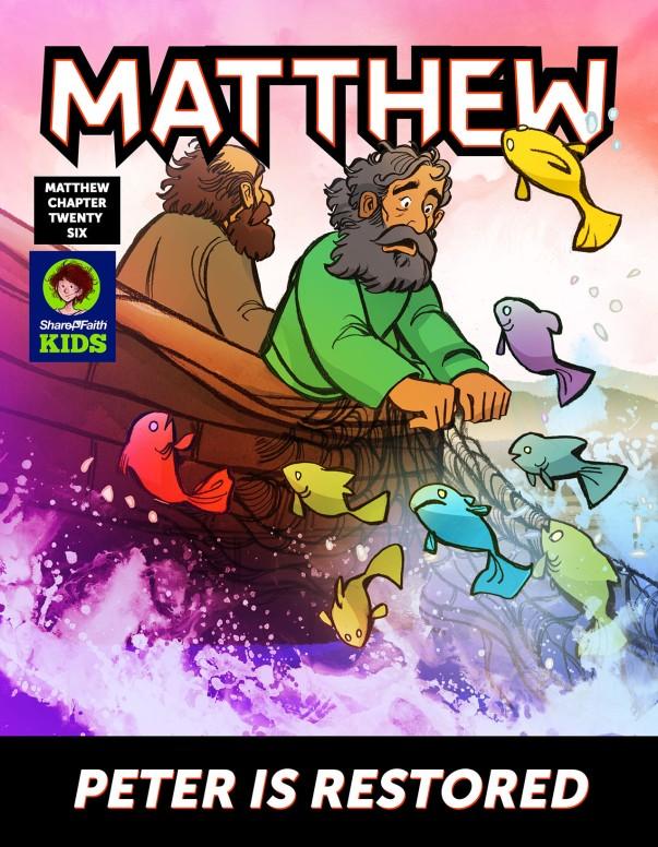 John 21 Peter Is Restored Digital Comic