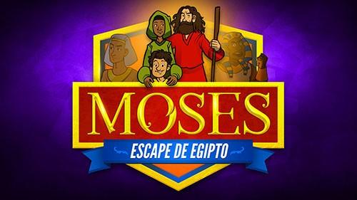 Éxodo 2 Moisés escapa del video bíblico de Egipto para niños